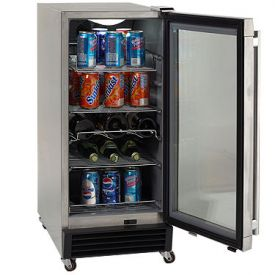 Enlarge Avanti OBC33SSD 3.2 CF Built-In Outdoor Refrigerator - Digital