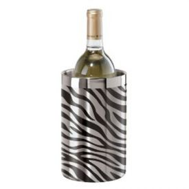 Enlarge Oggi 7400 Stainless Steel Zebra Double Wall Wine Cooler
