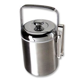 Enlarge Oggi 6518.0 1.9 L. Galaxy Satin Stainless Steel Ice Bucket