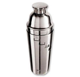 Enlarge Oggi Dial A Drink Stainless Steel 1-Liter Cocktail Shaker