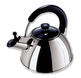 Enlarge Oggi 7096 Whistling Stainless Steel 2.5-Liter Tea Kettle