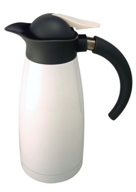 Enlarge Oggi 6565.1 Luna Thermal Coffee Carafes - White