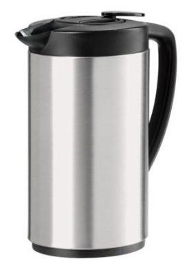 Enlarge Oggi 6566.0 Oval Stainless Steel Carafe