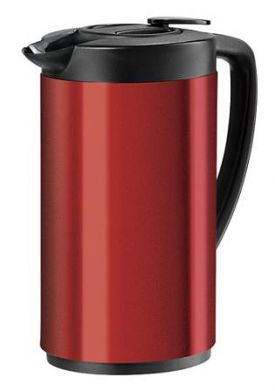 Enlarge Oggi 6566.2 Red Oval Stainless Steel Carafe