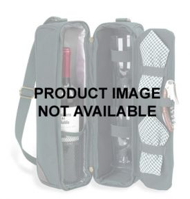 Enlarge Sunset Deluxe One Bottle Wine Carrier - Black