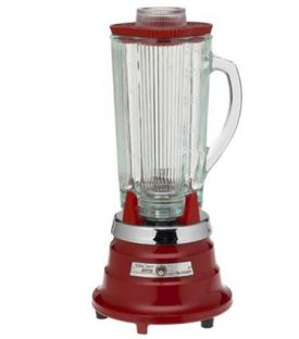 Enlarge Waring Professional PBB204 Professional Food & Beverage Blender - Chili Red