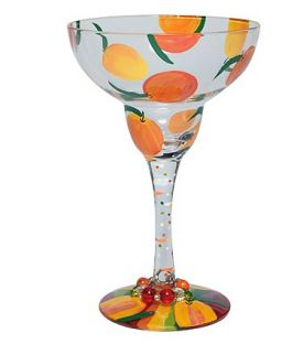 Enlarge Lolita Love My Margarita Glass - Peach Margarita Glass