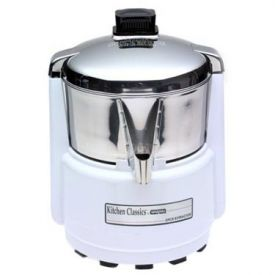 Enlarge Waring Pro PJE401 Professional Juice Extractor - White & Stainless