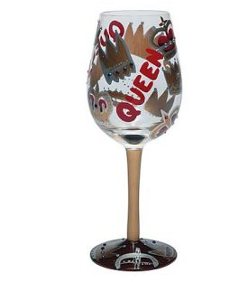 Enlarge Queen Wine Glass by Lolita Love My Wine Collection