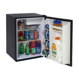 Enlarge Avanti RM241B - 2.4 cf Compact All Refrigerator - Black w/ Wire Shelf, Chiller Compartment