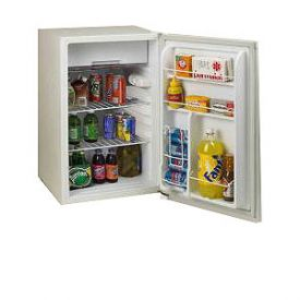 Enlarge Avanti RM4550W-2 4.5 Cu. Ft. Counterhigh Refrigerator - White
