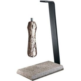 Enlarge Rogar 0422 Desert Sand Granite Table Stand & Handle Set