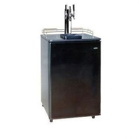 Enlarge Summit Kegerator SBC-500B-3 Triple Faucet Full Size Keg Beer Cooler