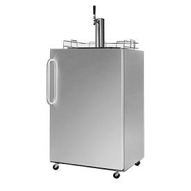 Enlarge Summit Kegerator SBC490OS Stainless Steel UL Listed Outdoor Beer Dispenser
