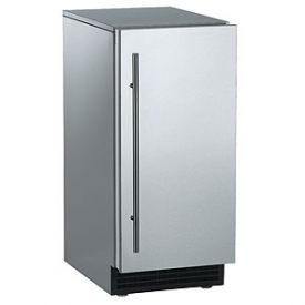Enlarge Scotsman SCCP50MA-1BU Ice Maker 65 lbs. with Drain Pump - Black Fully Integrated