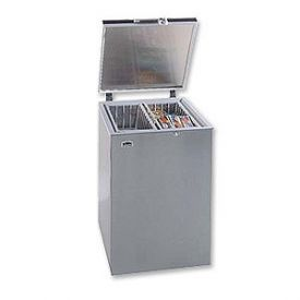 Enlarge Summit SCF401SS 3.6 Cubic Foot Stainless Steel Chest Freezer