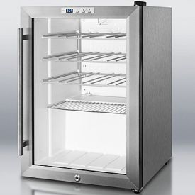 Enlarge Summit SCR312LCSSWC Wine Cooler - Stainless Steel Cabinet
