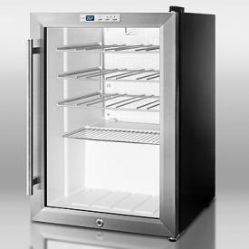 Enlarge Summit SCR312LWC Wine Cooler - Black Cabinet