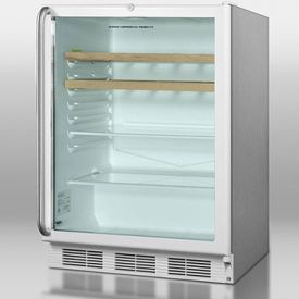 Enlarge Summit SCR600LOSRC 5.5 Cu. Ft. Outdoor Refrigerator Refreshment Center