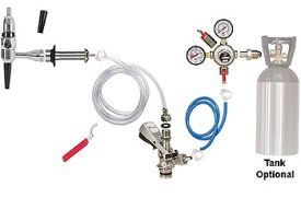 Enlarge Kegco Standard Guinness Kegerator Keg Tap Conversion Kit