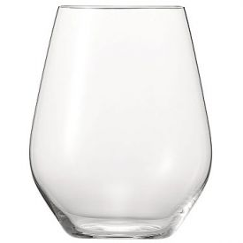 Enlarge Spiegelau Authentis Casual Red Wine Stemless Tumblers, Set of 4 in Gift Tube