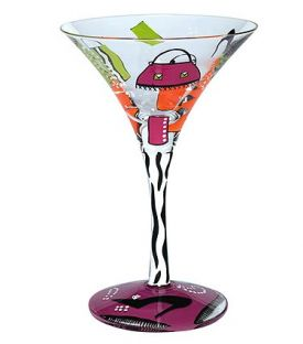 Enlarge Shopaholic Too Martini Glass by Lolita Love My Martini