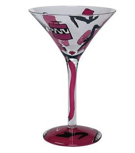 Enlarge Shopaholic Martini Glass by Lolita Love My Martini