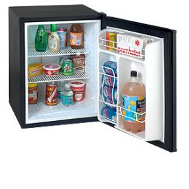 Enlarge Avanti SHP2403B 2.5 Cu. Ft. Compact SUPERCONDUCTOR Refrigerator - Black (Hospitality Unit)