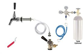 Enlarge Kegco Premium Door Mount Kegerator Keg Tap Conversion Kit