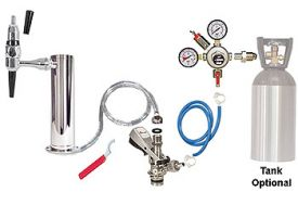 Enlarge Kegco Standard Guinness Draft Tower Keg Tap Kit