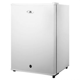 Enlarge Summit FF28LWH 2.4 c.f. Compact All Refrigerator w/ Lock - White