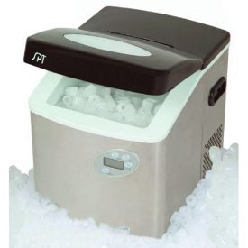 Enlarge Sunpentown IM-101S Portable Ice Maker w/Stainless Steel Body
