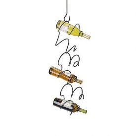 Enlarge Climbing Tendril Wine Rack - Black