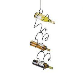 Enlarge Climbing Tendril Wine Rack - Copper