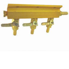Enlarge 1743 - Aluminum Three-Way Air Distributor without Safety