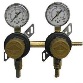 Enlarge T1672ST Two Product Secondary Co2 Kegerator Regulator by Taprite