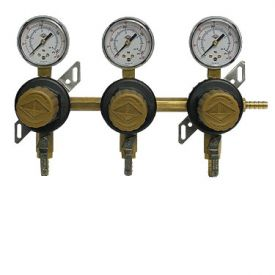 Enlarge T1683ST Three Product Secondary Co2 Regulator by Taprite