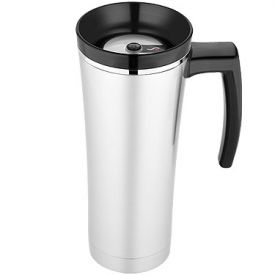 Enlarge Thermos NS100BK004 - Sipp Vacuum Insulated Travel Mug - Black