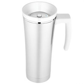 Enlarge Thermos NS100WH004 - Sipp Vacuum Insulated Travel Mug - White