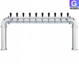 Enlarge AC246-10 Stainless Steel 10 Faucet - 3.3 Inch Column - Glycol Cooled