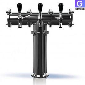 Tr224 3 Stainless Steel Terra 3 3 Faucet Draft Beer Tower