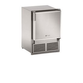 Enlarge U-Line SS1095FC-20 220V Stainless Steel Marine Crescent Ice Maker - Flush to Cabinet