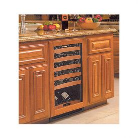 Enlarge U-Line Echelon 2175WCOL2-00 48 Bottle Wine Cellar w/Full Overlay Frame