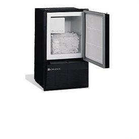 Enlarge U-Line BI95BTP-03 110V Black Marine Crescent Ice Maker