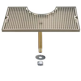 Enlarge BVL-120LDCH - Stainless Steel Zeus Tower Surface Mount Drip Tray