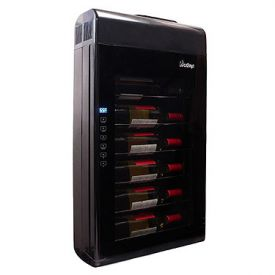 Enlarge Vinotemp VT-6TED-WB 6 Bottle Thermoelectric Wine Cooler Refrigerator