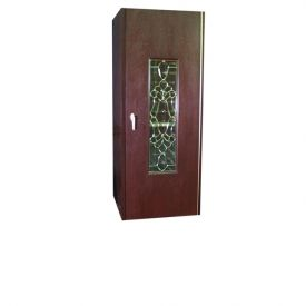 Enlarge Vinotemp 300WCB Wine Cellar w/ Beveled Treble Glass Door - 240 Bottles