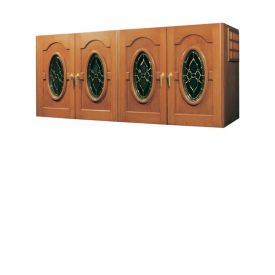 Enlarge Vinotemp Napoleon 400 Credenza Wine Cellar w/ Glass Doors - 304 Bottle Count