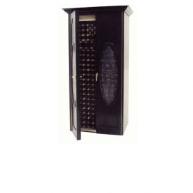 Enlarge Vinotemp Napoleon 440 Wine Cellar - Two Oval Glass Doors - 280 Bottle Count