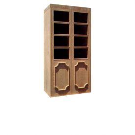 Enlarge Vinotemp Empire 700 Wine Cellar - Two Beveled Glass Doors - 440 Bottle Count